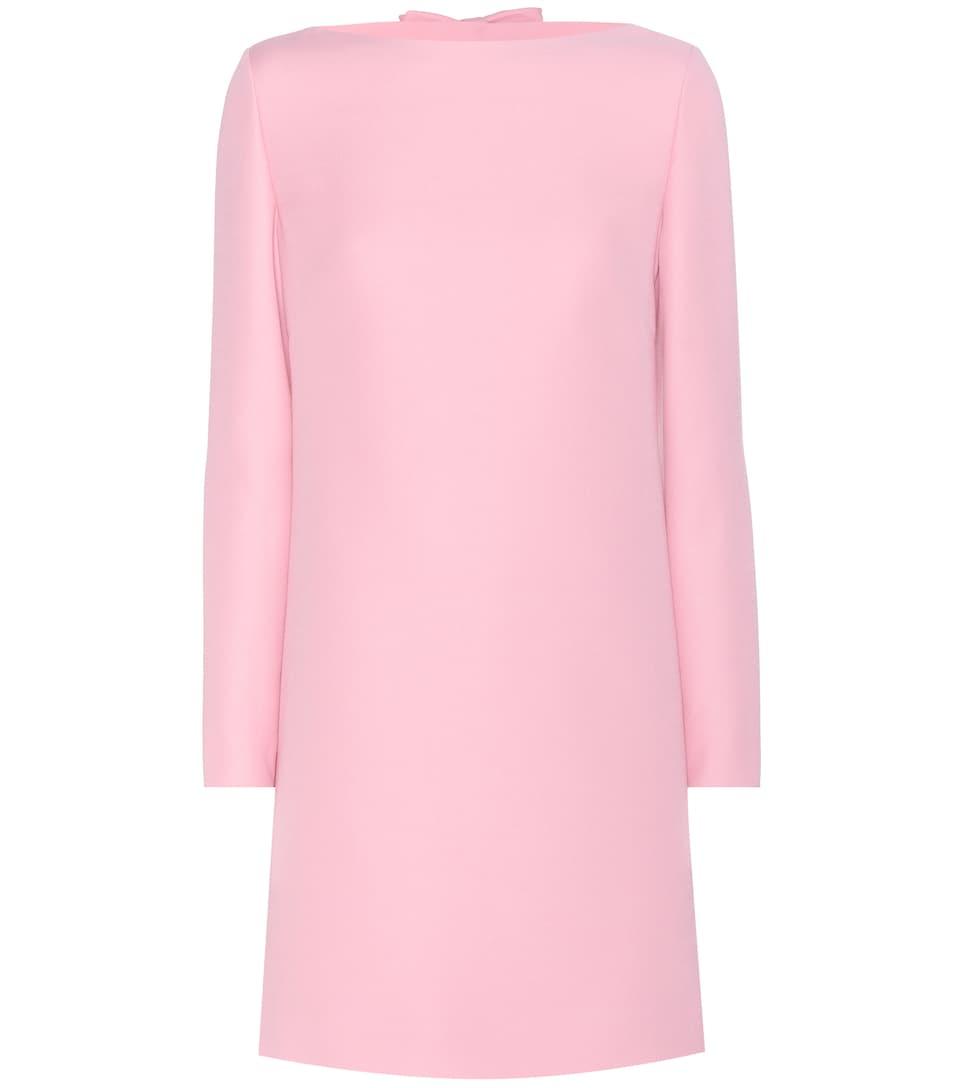97a30e0efc00 Valentino - Wool and silk dress