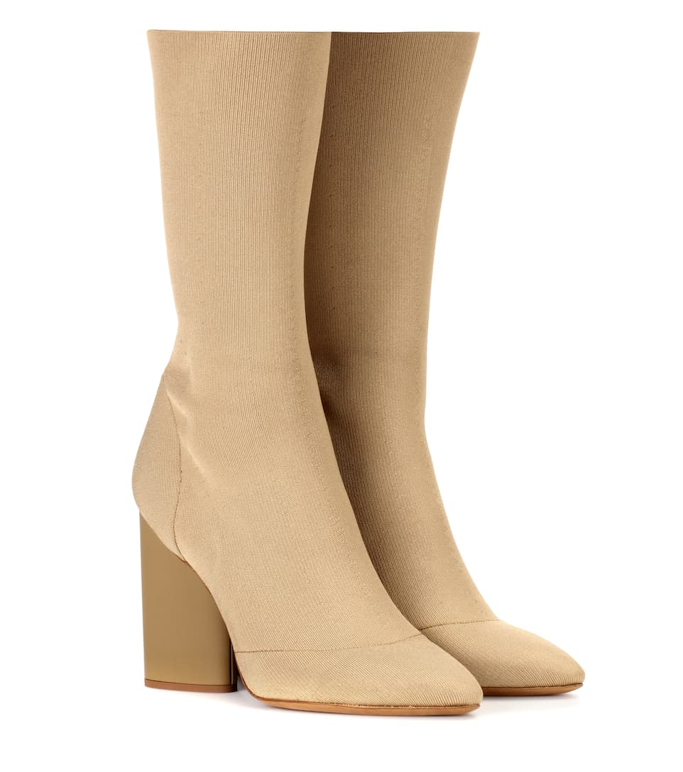 Ankle Boots Aus Stretch Strick (Season 4) by Yeezy