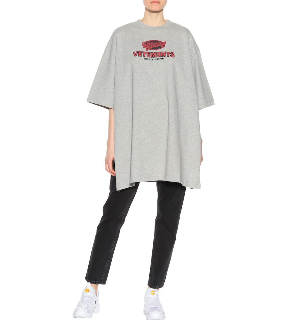 Vetements Printed T-shirt Made Of Cotton