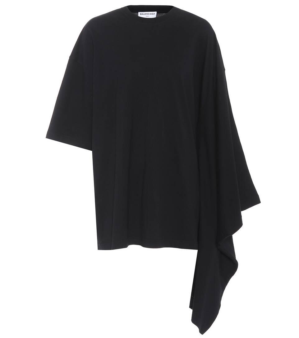 Balenciaga Printed T-shirt Made Of Cotton