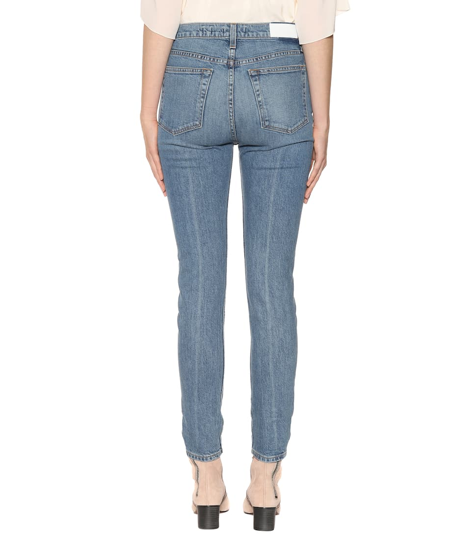 Re/Done Jeans High-Rise Stretch