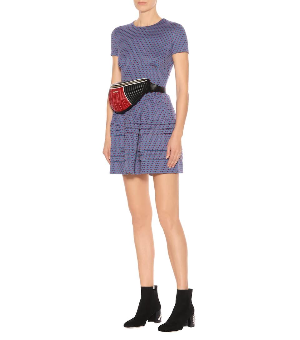 Miu Miu Minikleid aus einem Baumwollgemisch