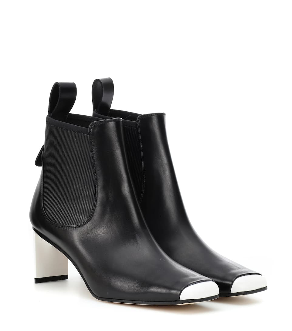 5a33e9d88c21e Leather Ankle Boots | Loewe - mytheresa.com