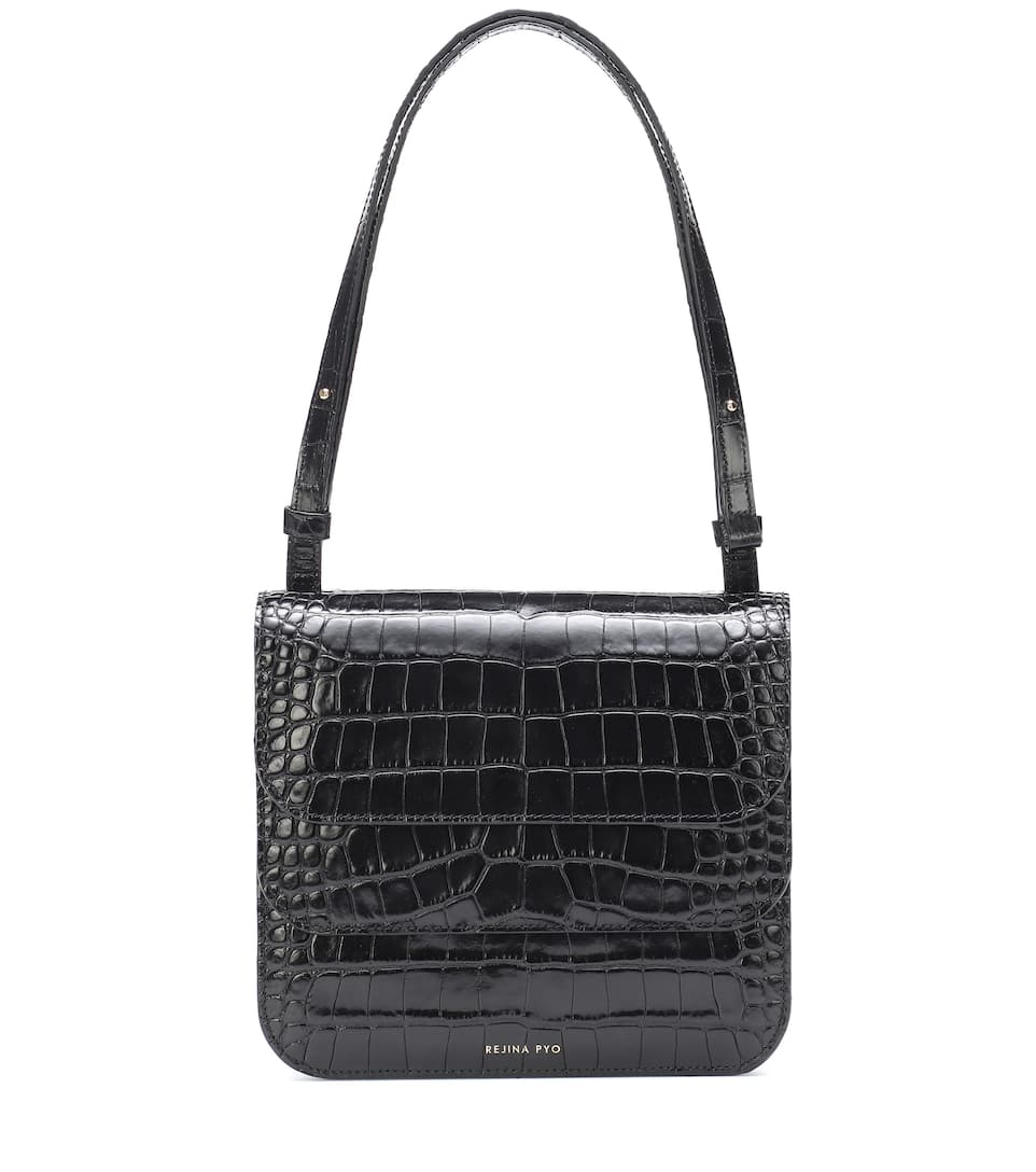 special section clearance discount price Ana croc-effect shoulder bag