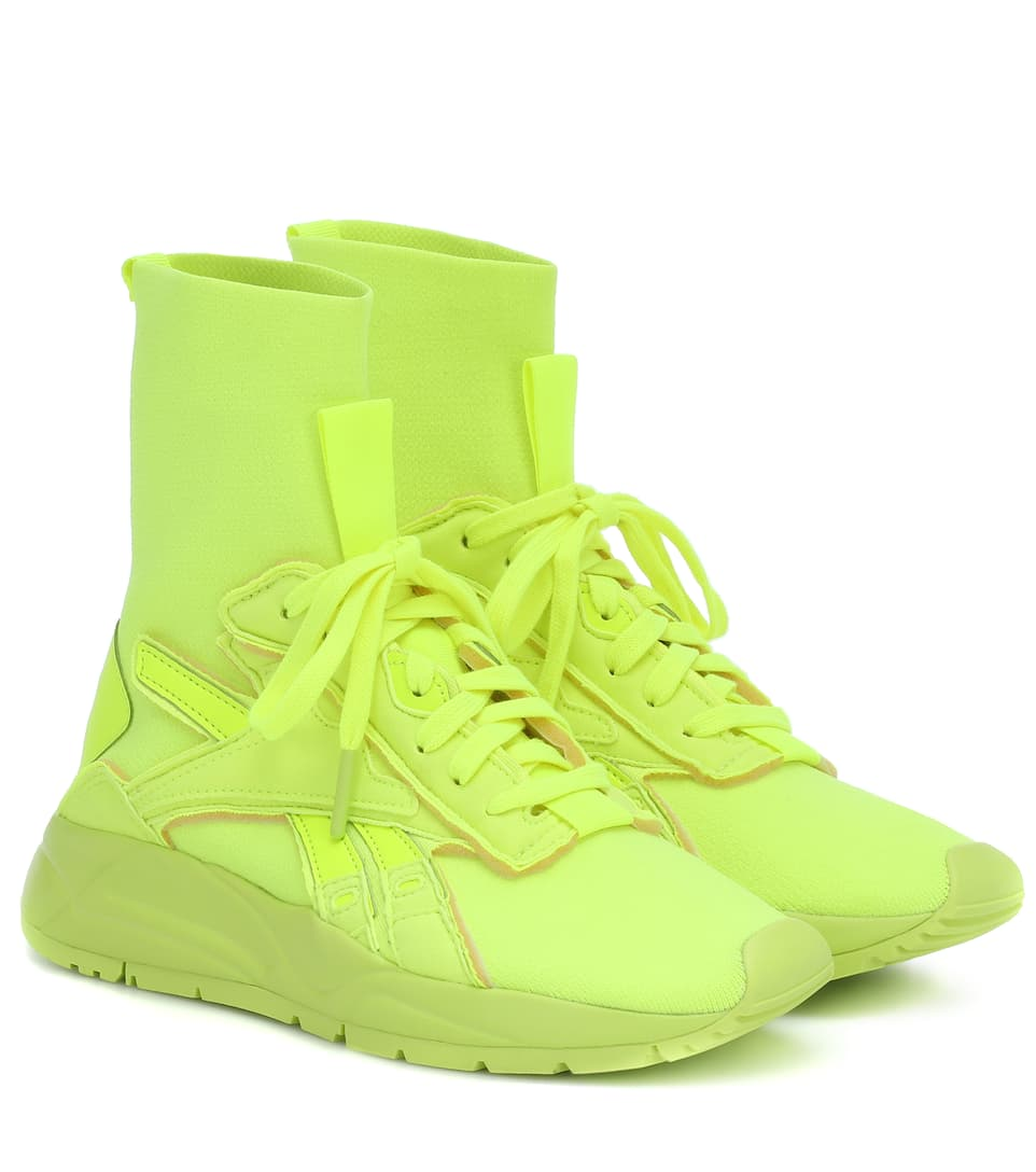 Bolton Sock High Sneakers by Reebok X Victoria Beckham