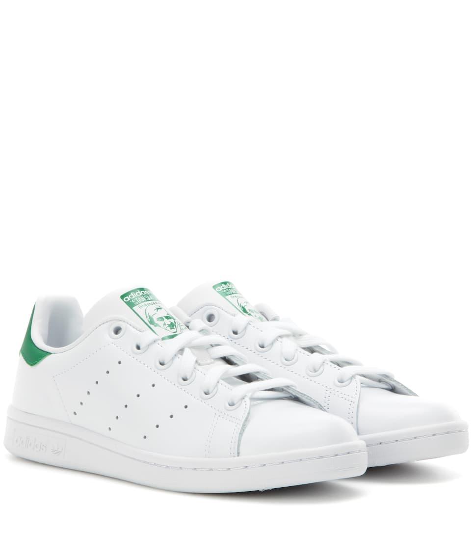 Originals de Smith Adidas Runwht Fairw cuero Stan Zapatillas qx5CnTf