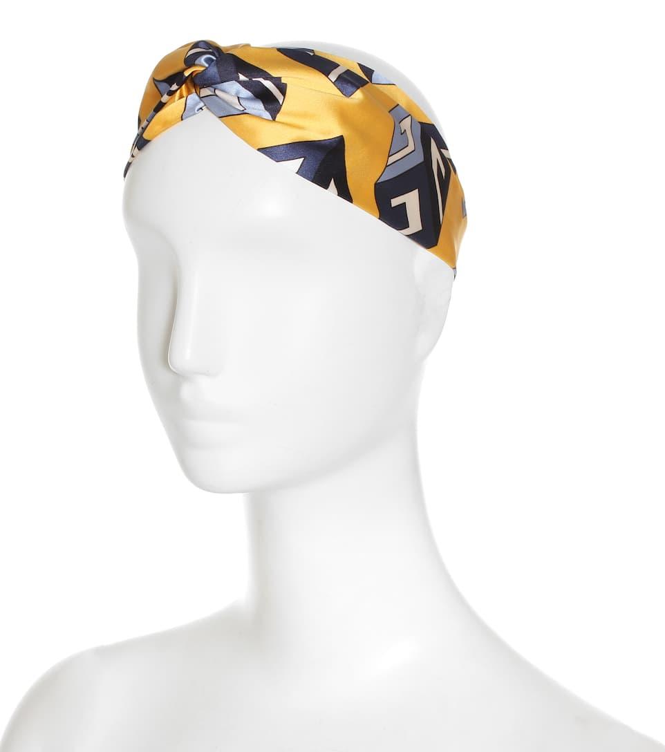 GUCCI Silk Satin Headband