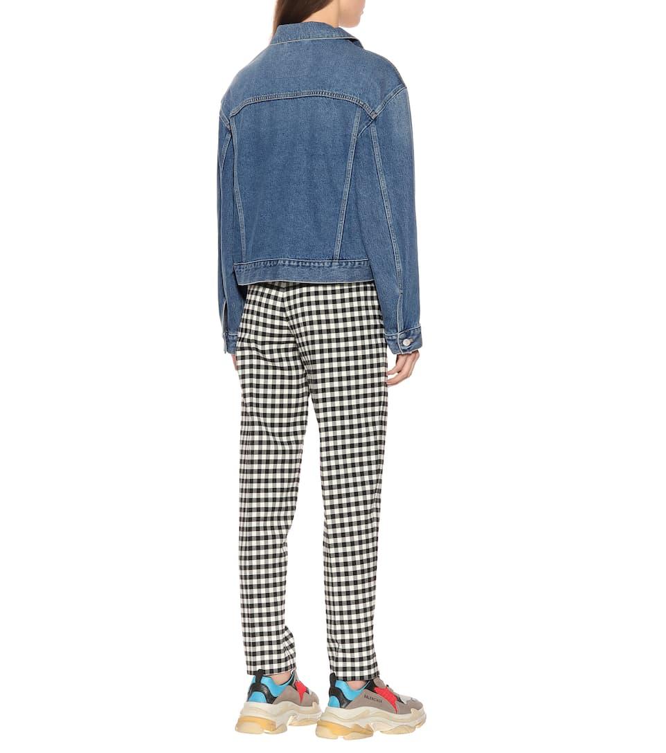 Balenciaga Jeansjacke aus Baumwolle