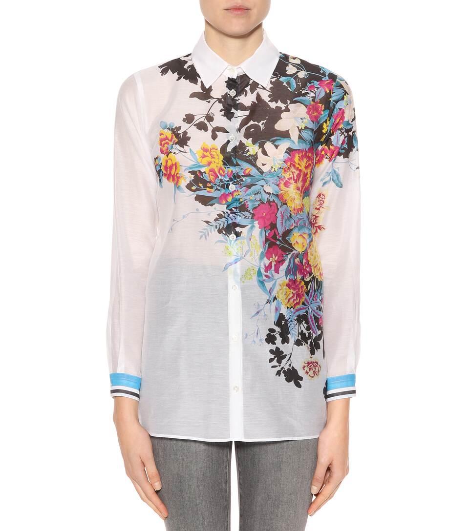 Erhalten Verkauf Online Kaufen Etro Bedruckte Bluse aus Baumwolle und Seide Webseiten Klassisch Zu Verkaufen ordeTEt2x