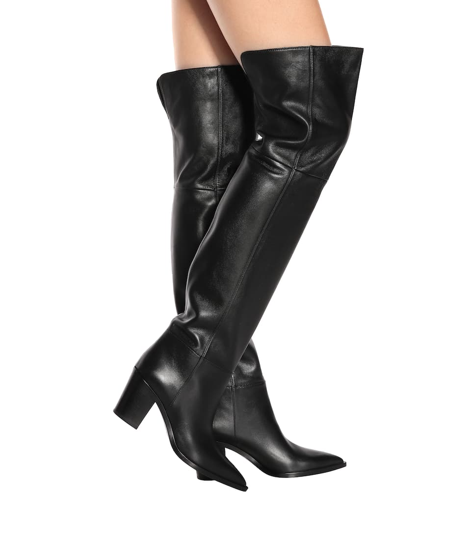50c0c9e615b Daenerys Leather Over-The-Knee Boots | Gianvito Rossi - mytheresa