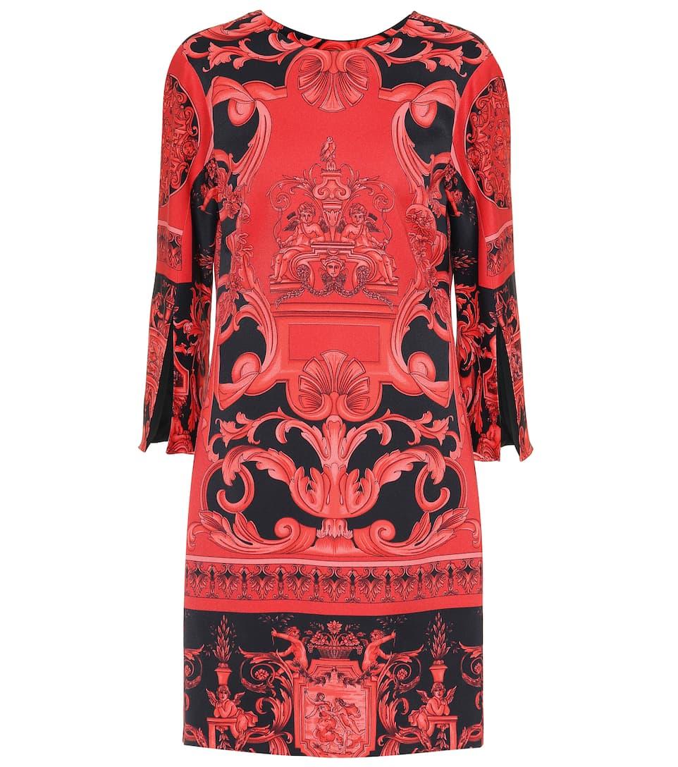 Versace - Robe en satin