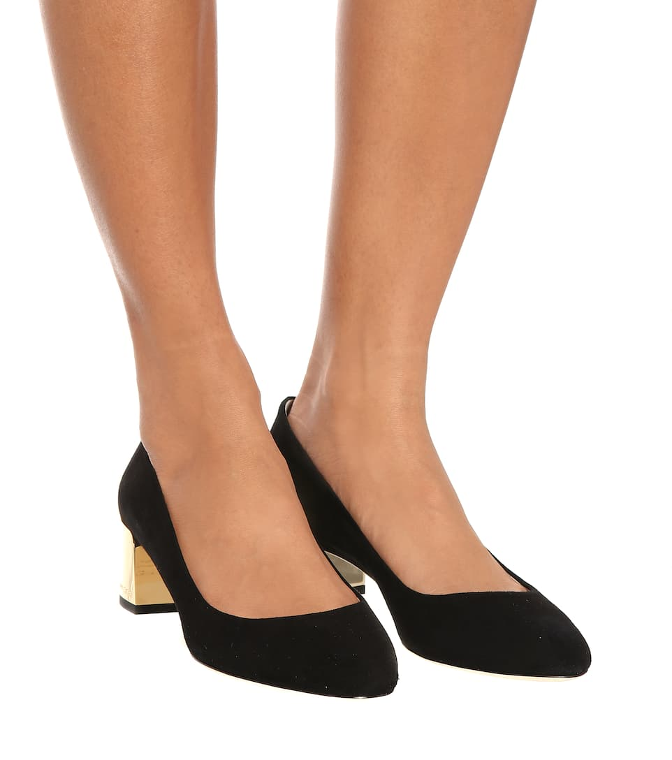 6dd060d9be4d Jimmy Choo - Jessie 40 suede pumps