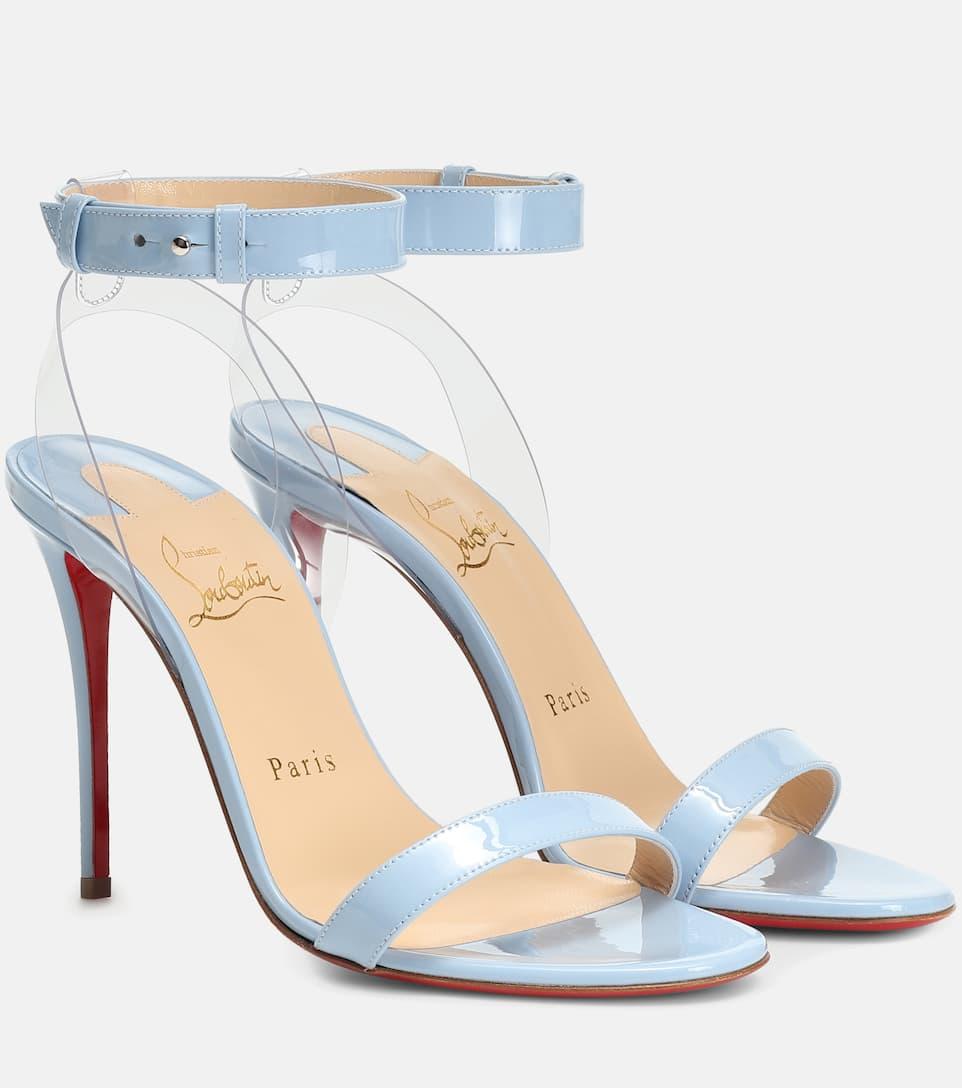 official photos ff2c9 6e4ed Jonatina 100 Patent Leather Sandals - Christian Louboutin ...