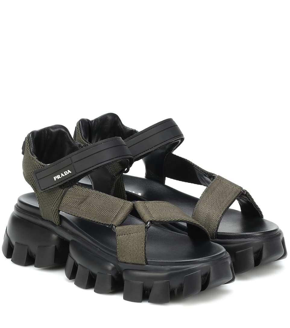 Cloudbust Thunder Sandals - Prada