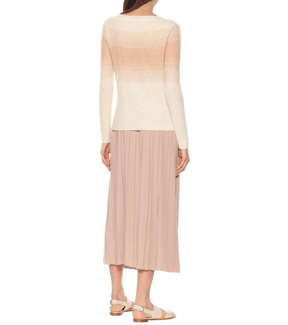 Cashmere And Silk Sweater Loro Piana