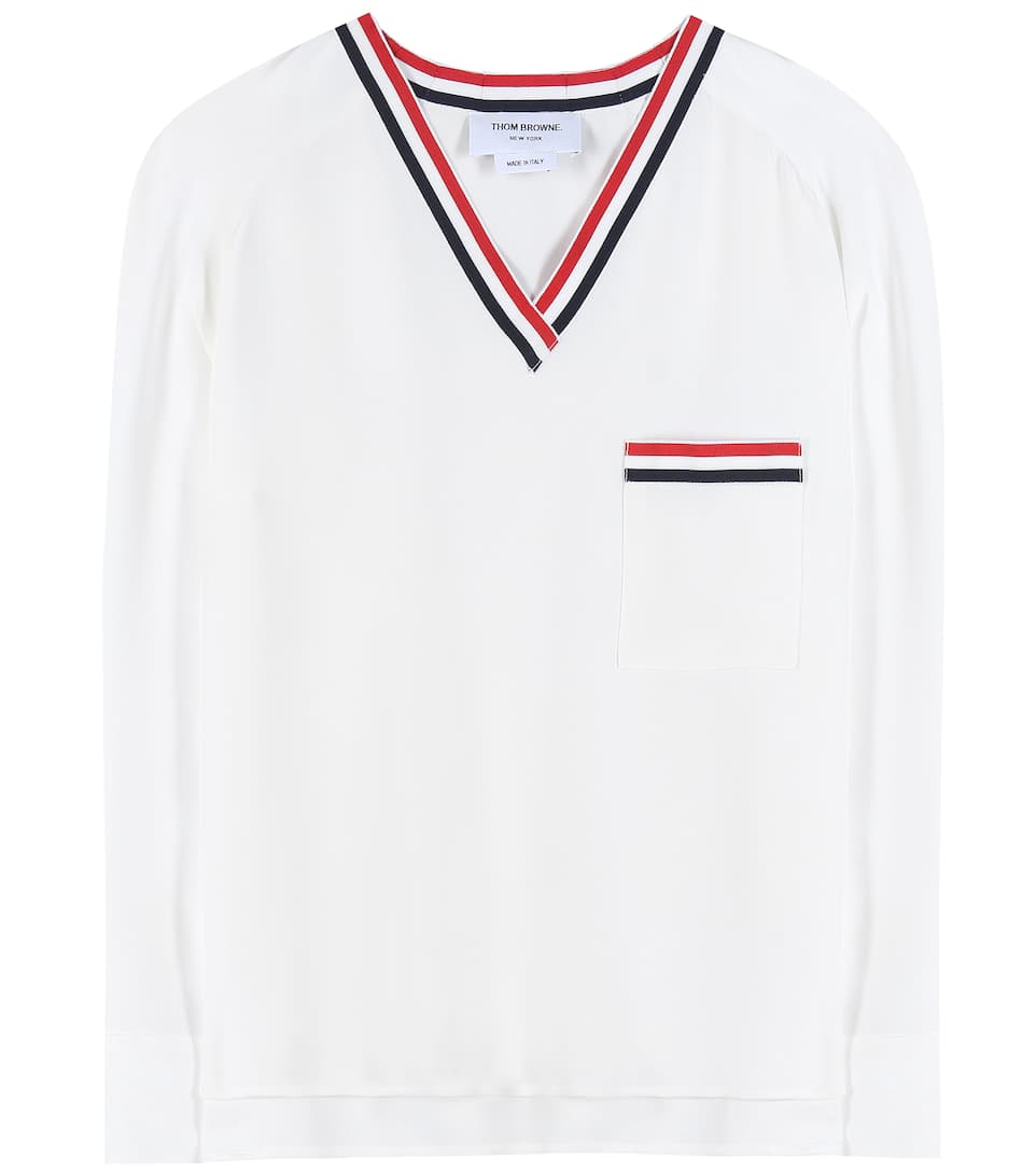 Thom Browne Silk top