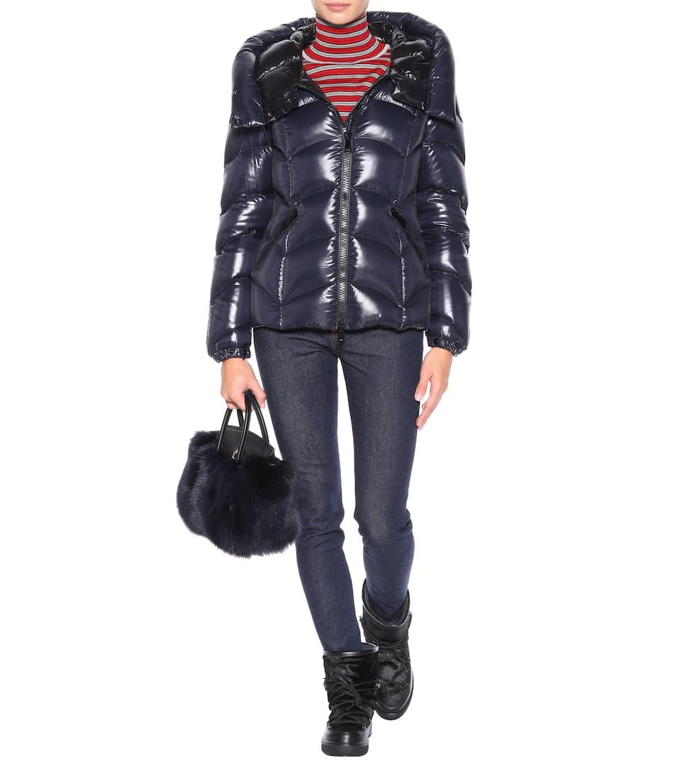 Akebia shiny puffer jacket. Moncler