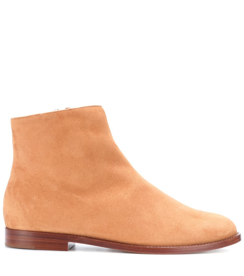 Mansur Gavriel Ankle Boots Made Of Suede