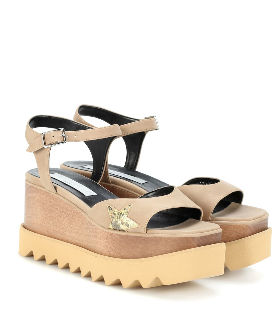 Elyse Platform Sandals, Brown