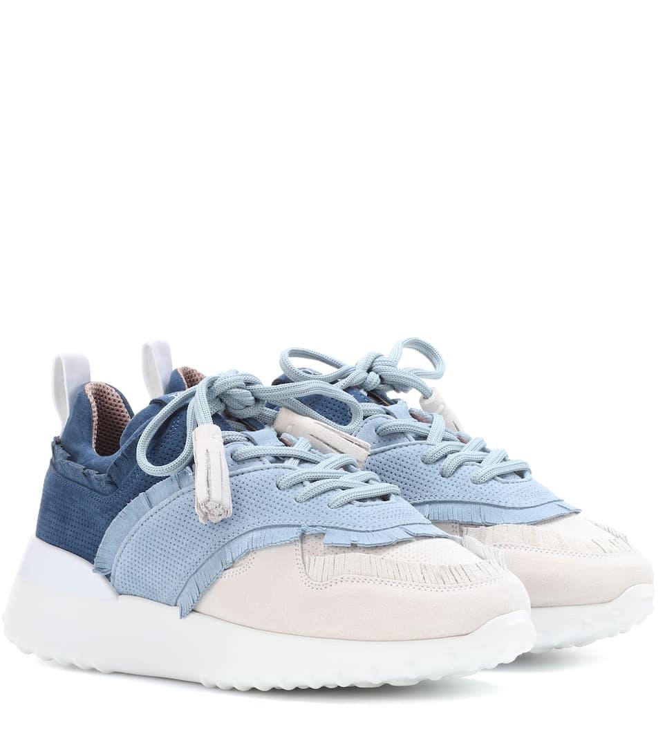 Tod's Sneakers aus Veloursleder