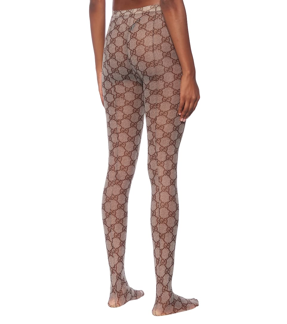 765cfe80484f6 GG patterned tights. NEW ARRIVAL. Gucci. GG patterned tights