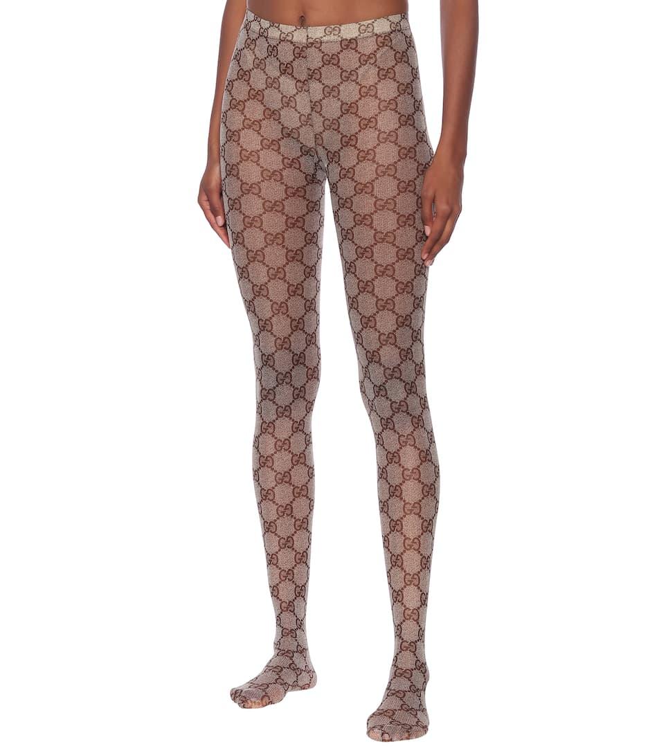 31c8665bf39b4 Gucci - GG patterned tights | Mytheresa