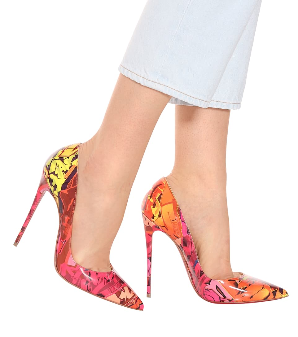 120 Vernice Kate Louboutin In So Christian Pumps 9WEH2ID