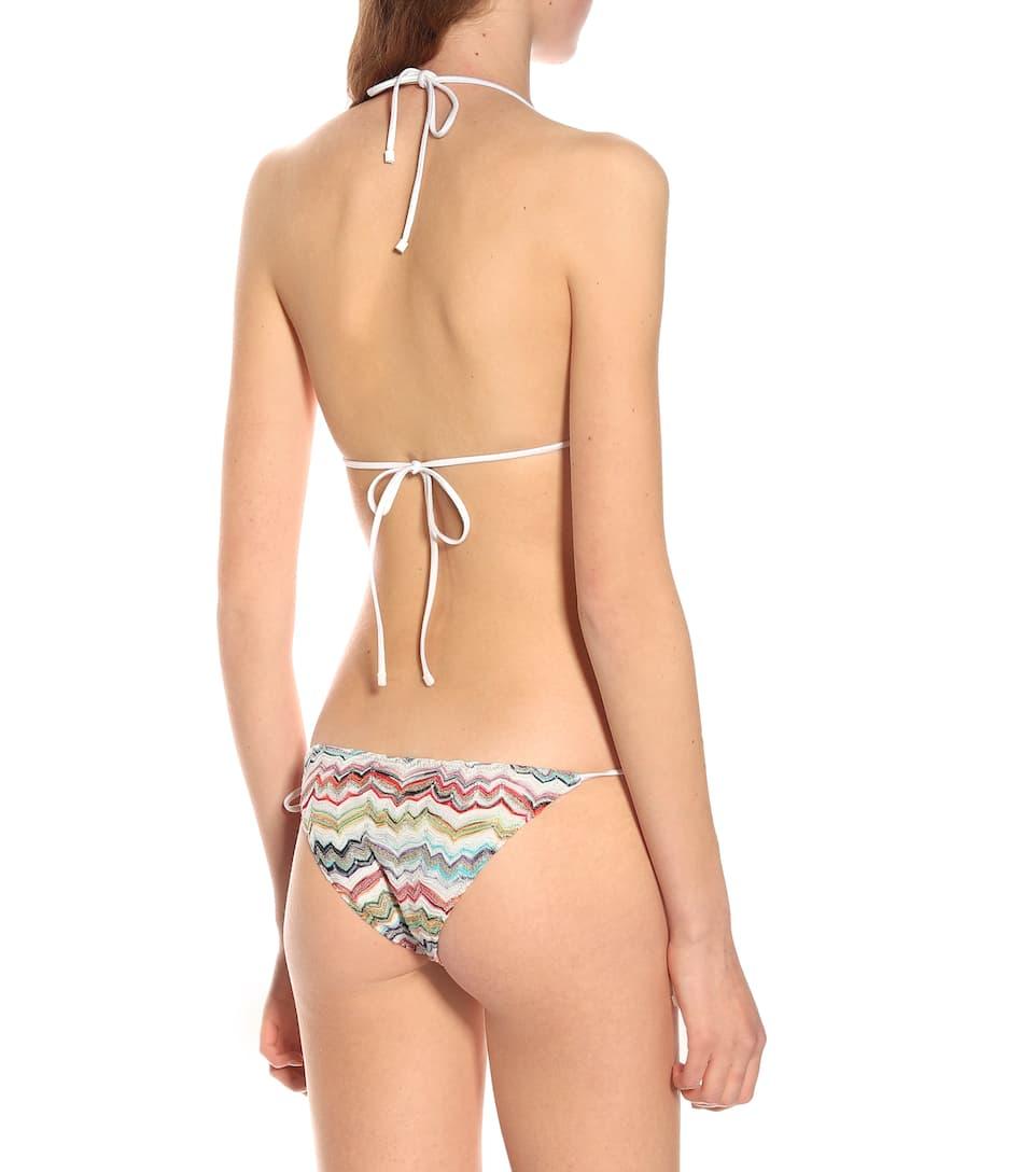 Mare Mare Missoni Bikini Missoni Triangle Triangle Bikini Imprimé Imprimé JF3lK1cT