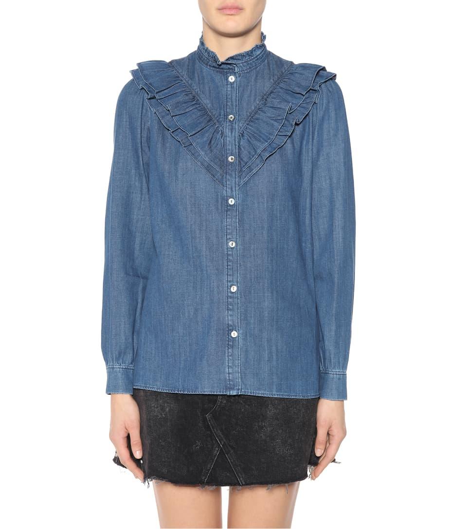 Apc Denim-blouse Suzie
