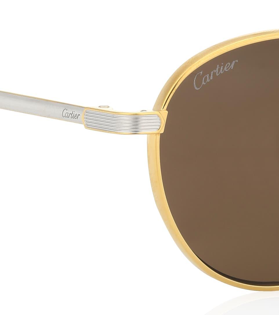 CartierEyewear Soleil C com Lunettes Mytheresa Artnbsp;p00331053 Rondes De Collection N° tCosrdxBhQ