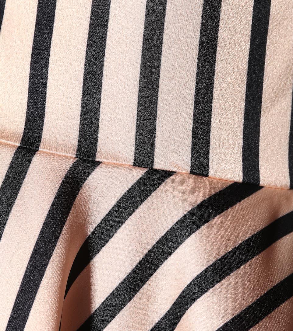 a nude rayas descubiertos hombros Autorretrato negro YaHdqYx