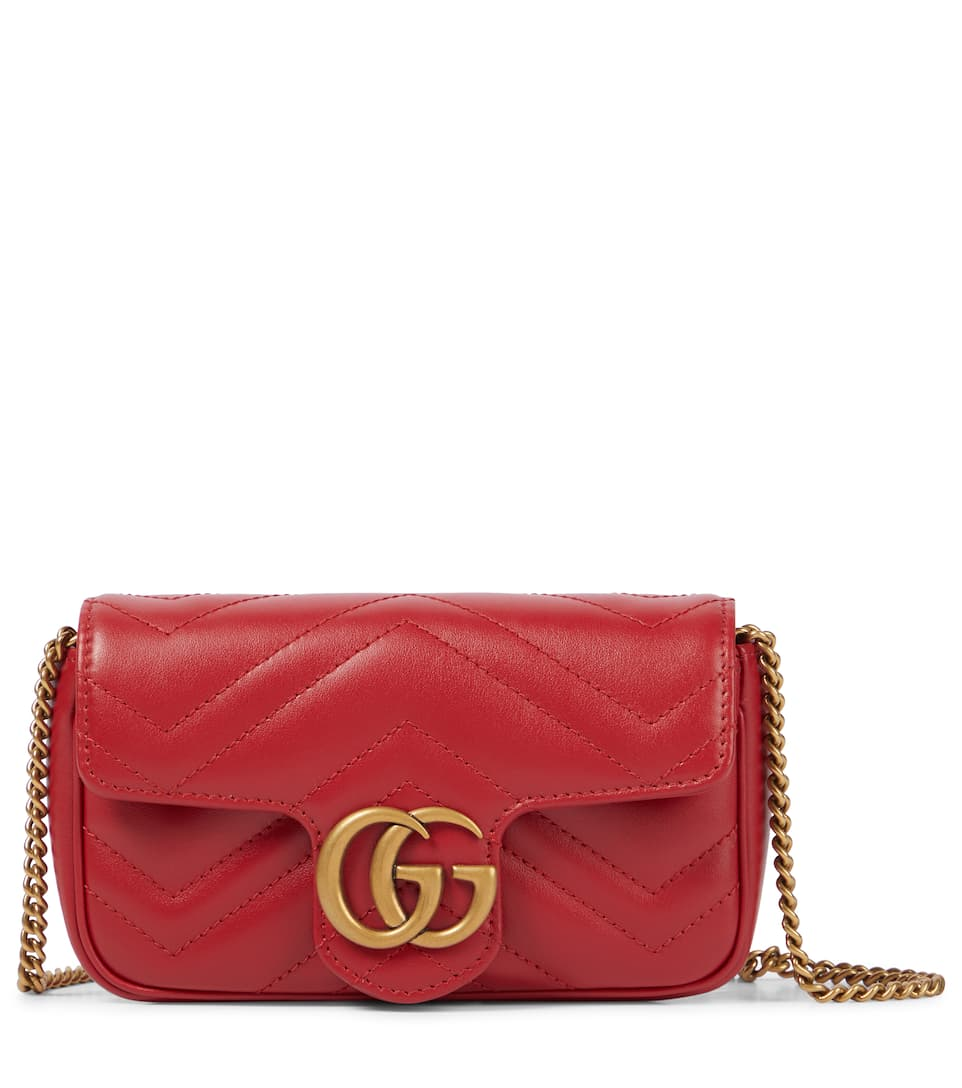 9fc65b7db18aee Gg Marmont Super Mini Shoulder Bag | Gucci - mytheresa