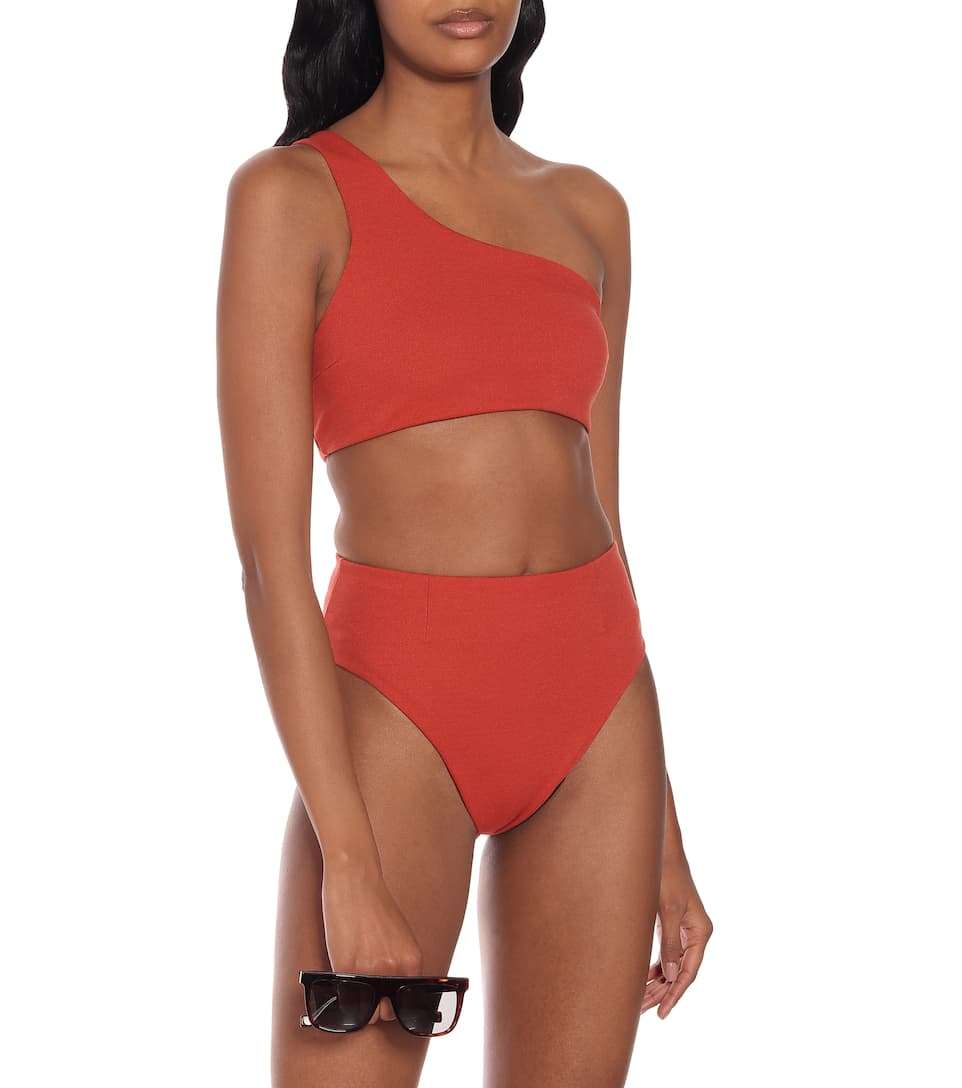 Haight - Perlin one-shoulder bikini
