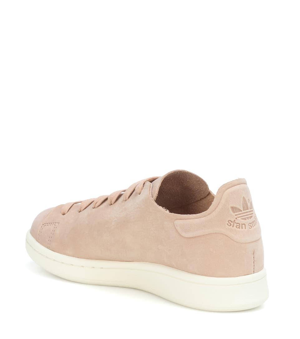 énorme réduction 23951 bfcdf Stan Smith nubuck leather sneakers