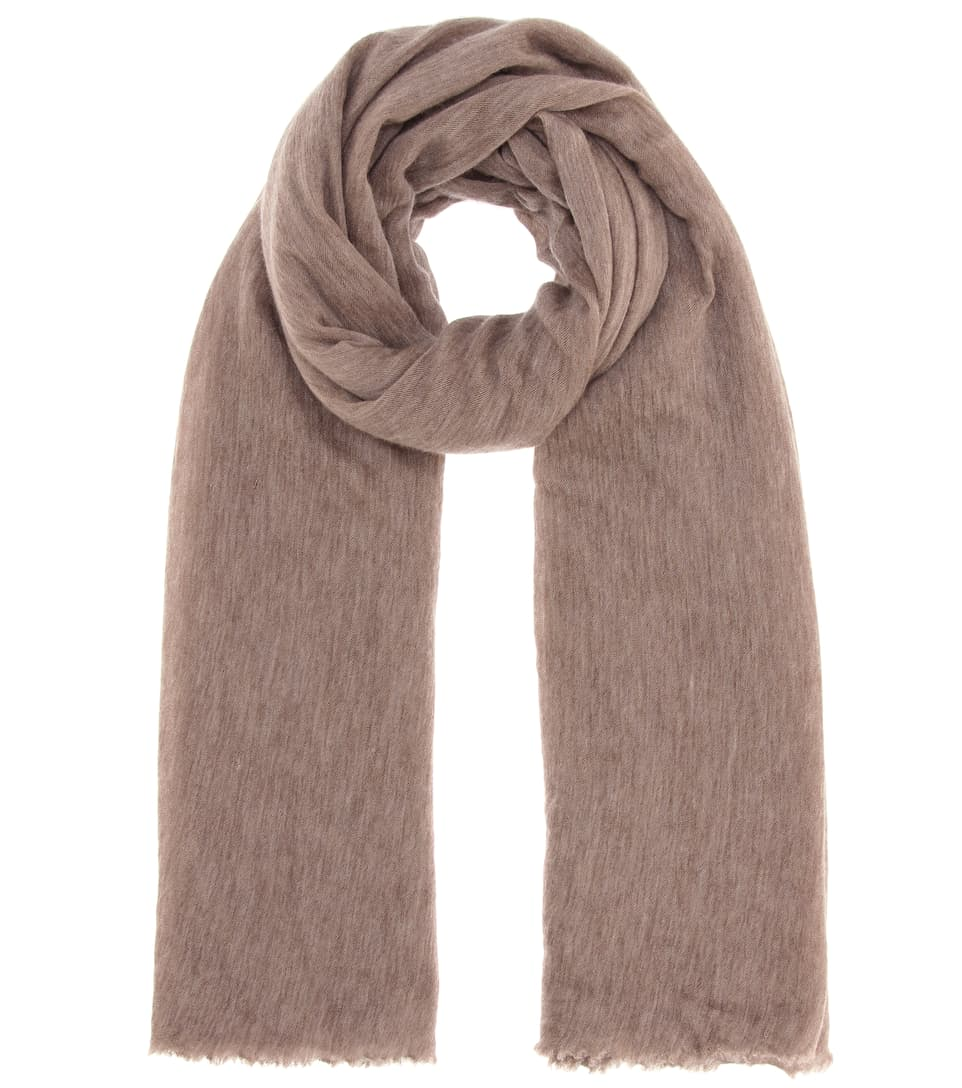oversized fringed scarf - Brown Isabel Marant
