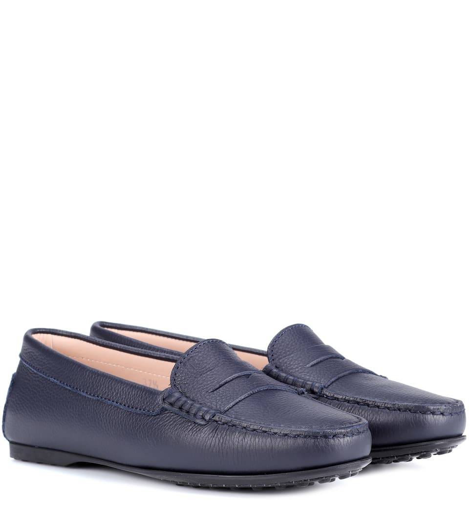 5500e8890f6 City Gommino Leather Loafers - Tod s