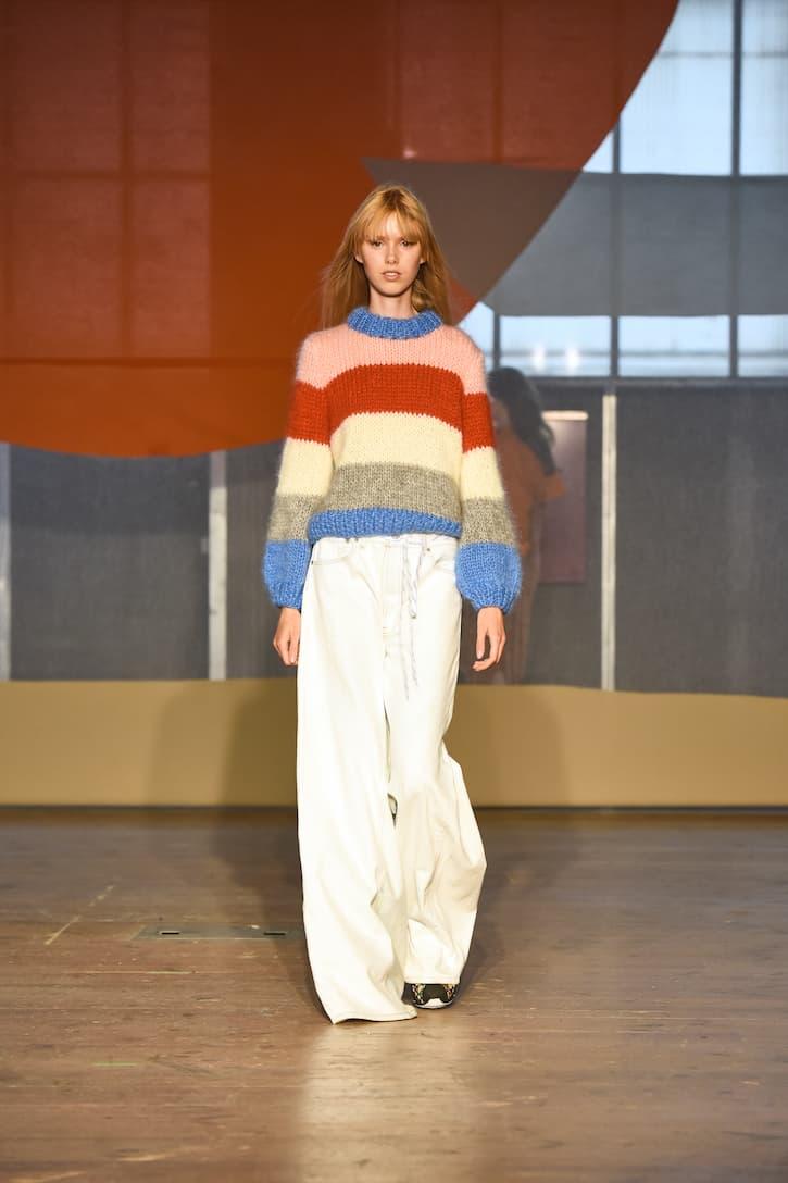 Ganni Pullover aus Mohair und Wolle