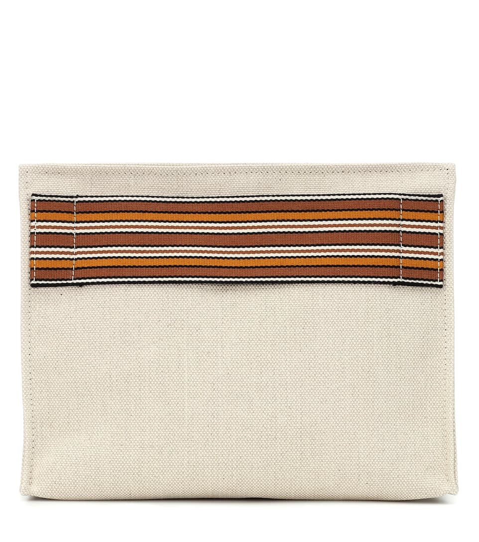 ToileLoro Pochette N° Stripe Suitcase Piana Artnbsp;p00403624 En The 45ALRj
