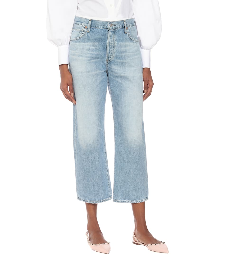 Citizens of Humanity - Emery high-rise straight jeans