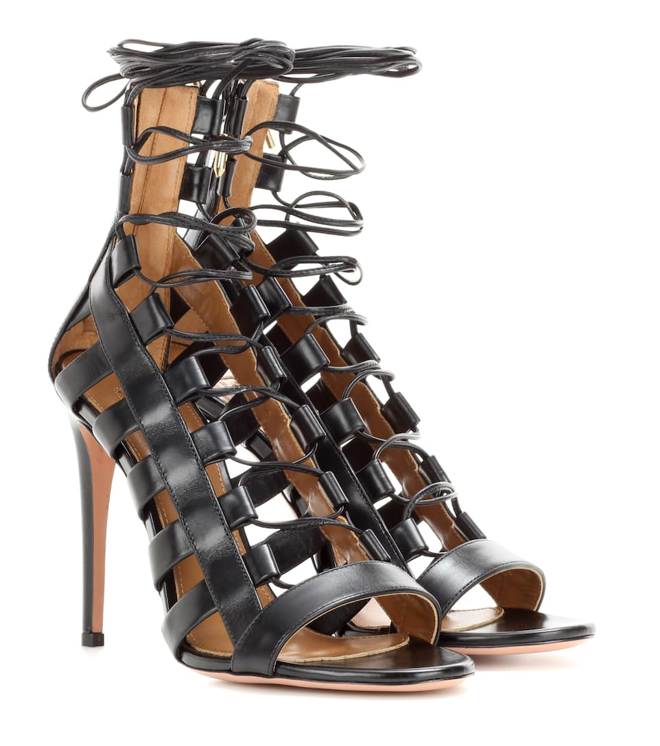 ce2c6404372 Aquazzura - Amazon 105 leather sandals