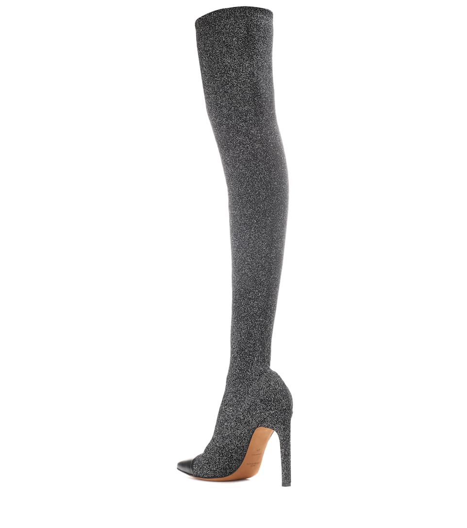 Givenchy Overknee-Stiefel mit Glitter
