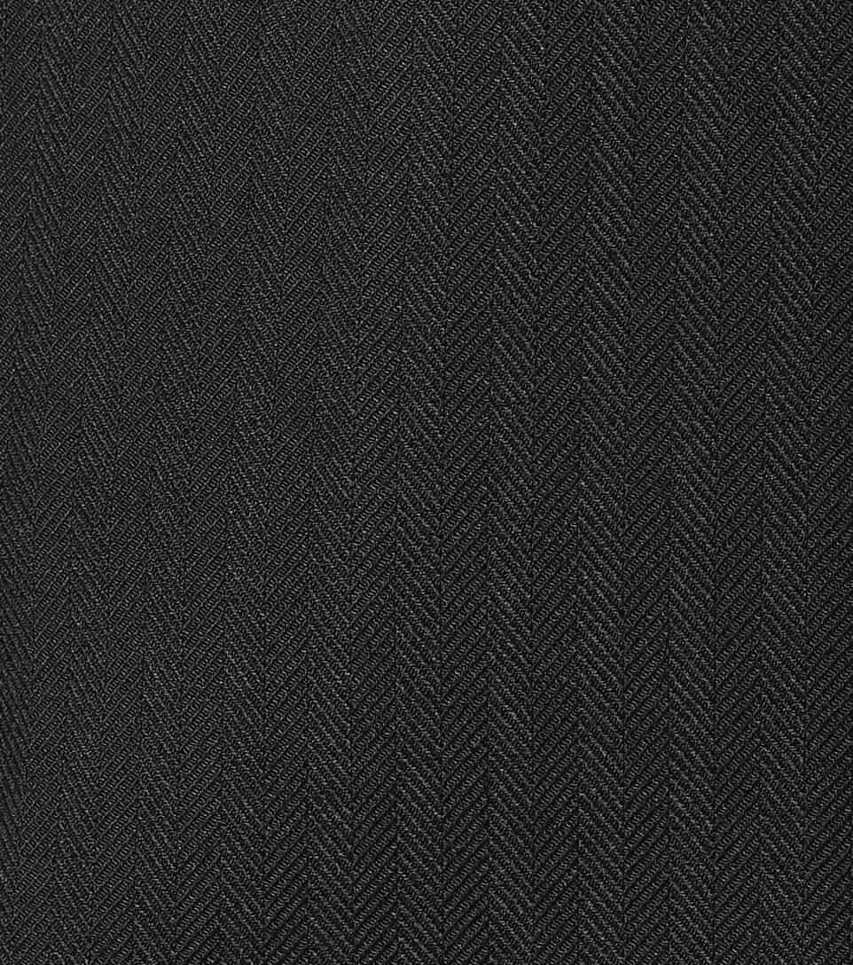 Helmut Lang Minikleid Blazer mit Wollanteil