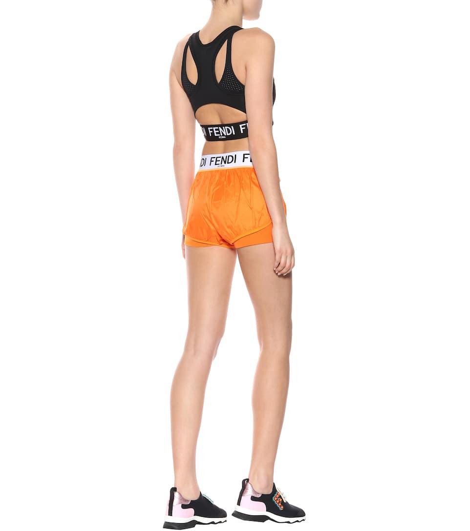Fendi Bedruckte Shorts