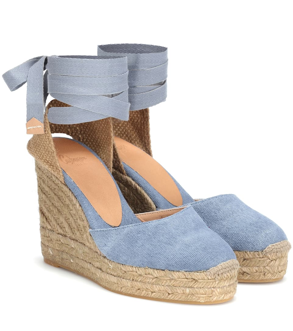 a2a943f1b190 Carina Canvas Wedge Espadrilles