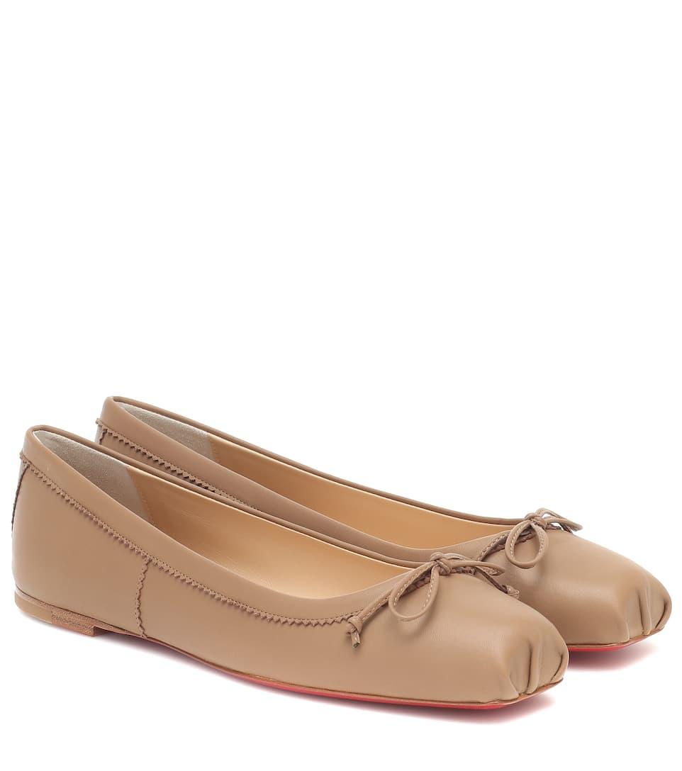 Mamadrague Leather Ballet Flats