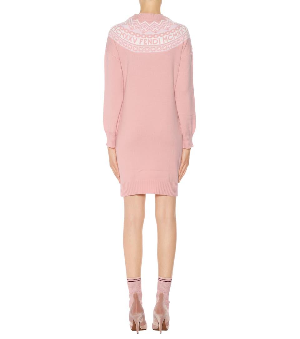 Fendi Exklusiv bei mytheresa.com – Pulloverkleid
