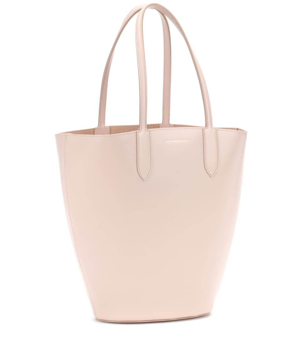 Cabas en cuir Basket Small