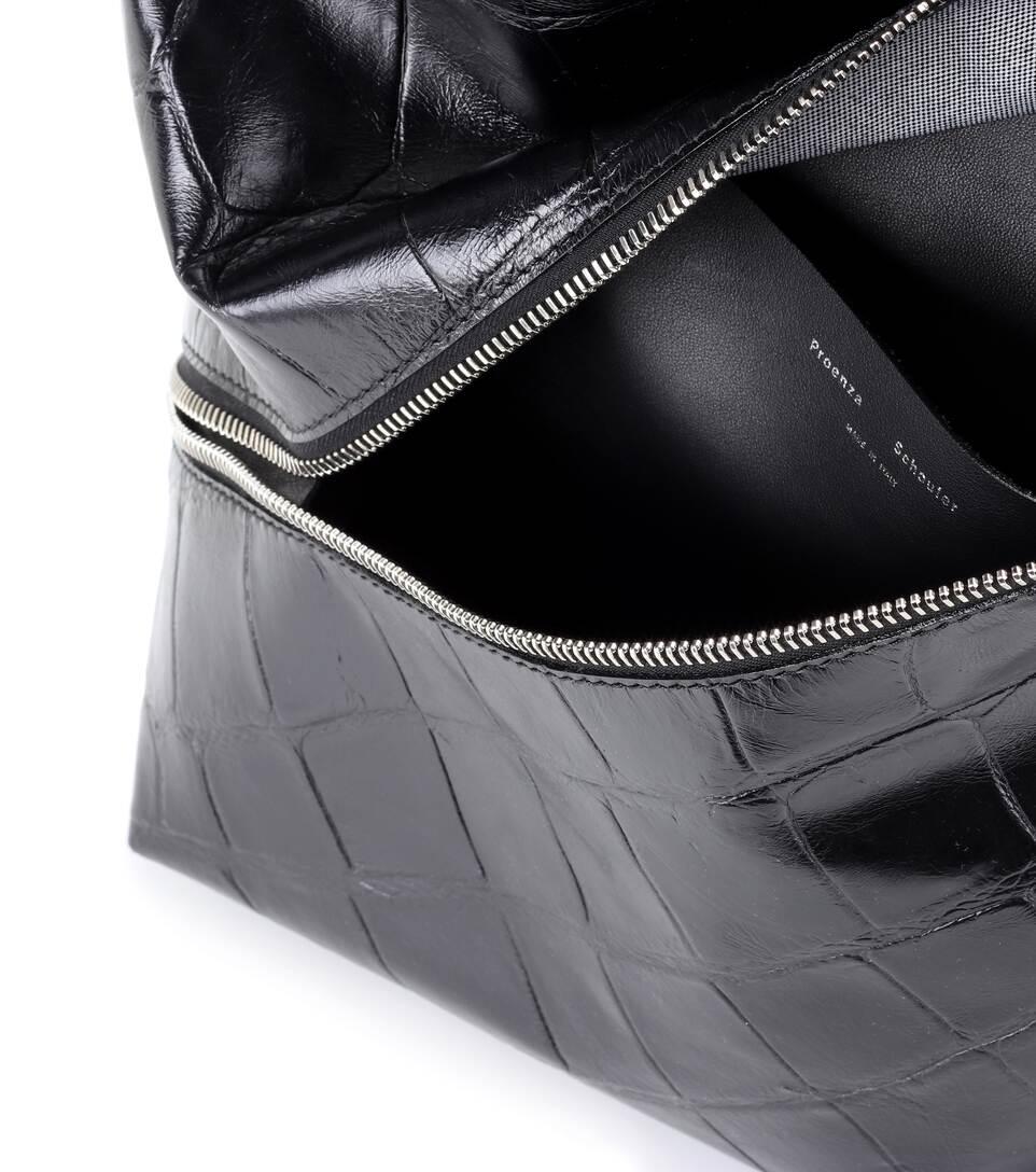 Proenza Schouler Tote Zip Hobo Medium aus Leder Offiziell Verkauf Finish Guter Service Finden Große Zum Verkauf 8T2oOA