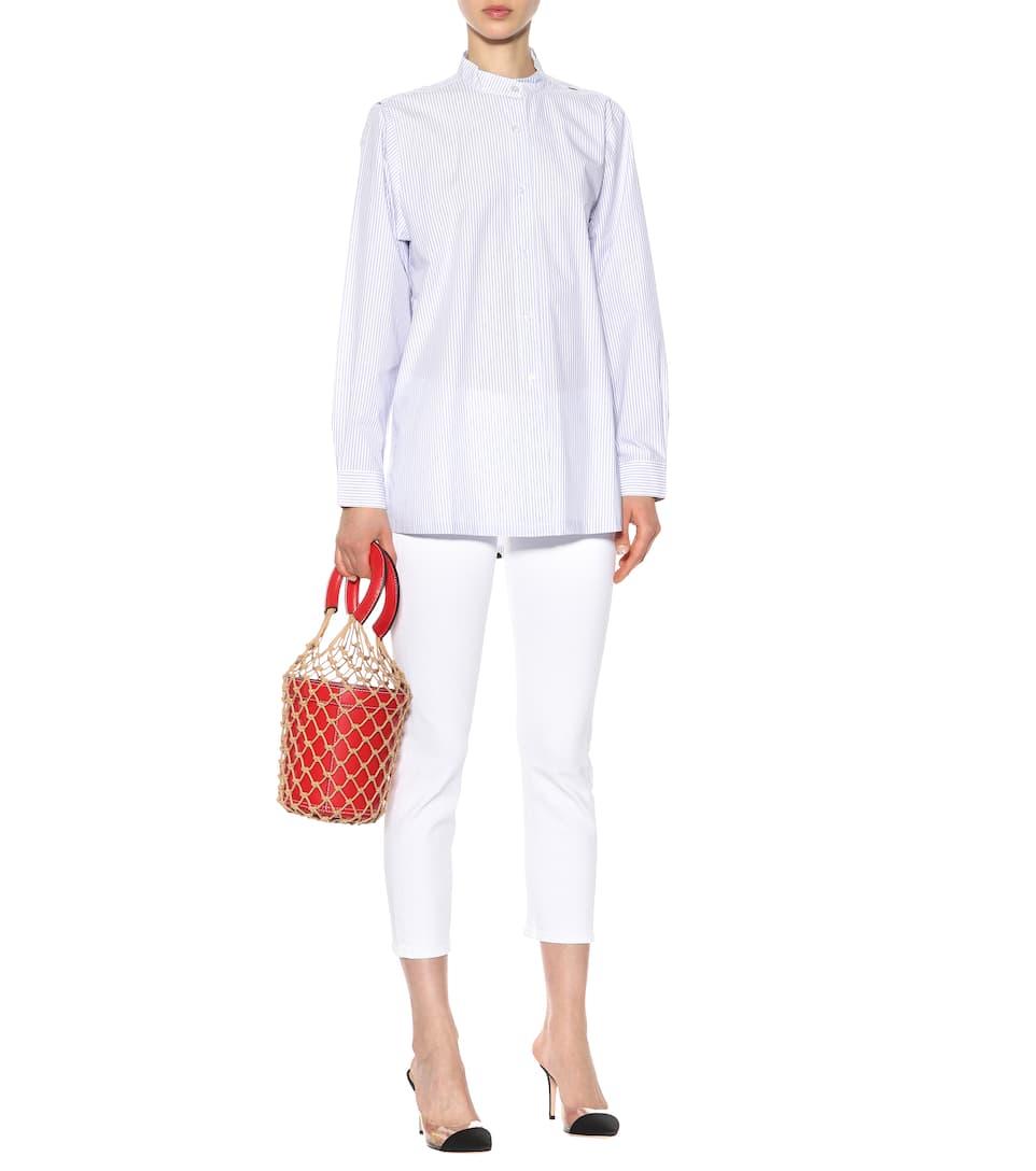 Être Cécile Bedruckte Bluse aus Baumwolle Footlocker Finish 9NdxXH