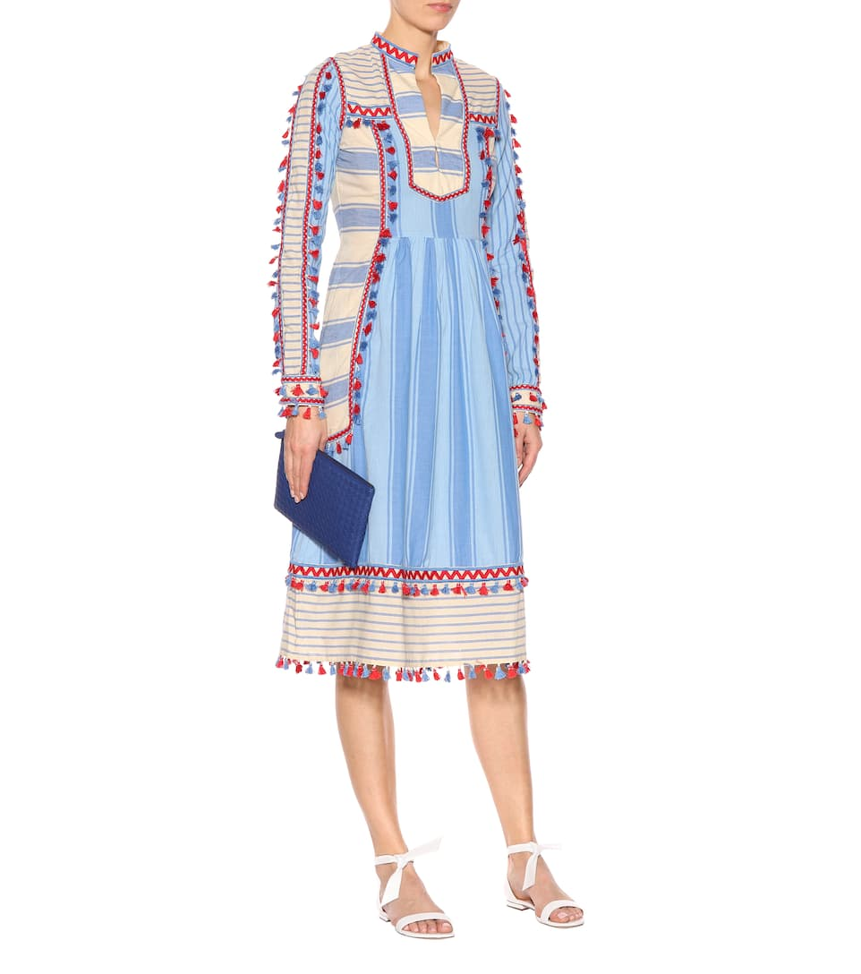 Dodo Bar Or Midi Cotton Dress